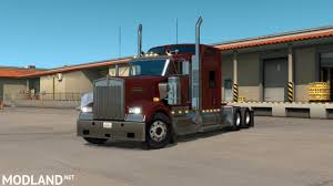 kenworth truck interior kenworth w900 interior exterior rework mod for american truck