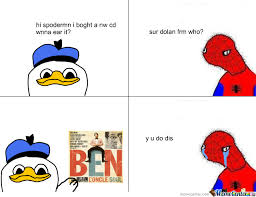Spoderman Memes - dolan spoderman by enucleaire meme center