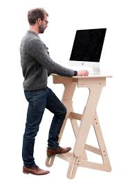 adjustable height stand up desk wood standing desk for office and
