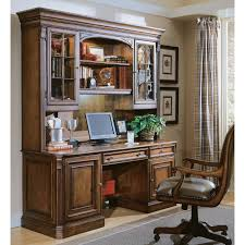 Home Computer Desk With Hutch by Hooker Furniture Brookhaven Executive Computer Desk With Optional