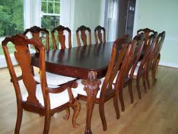 Thomasville Cherry Dining Room Set - Thomasville dining room chairs