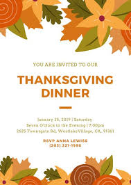 customize 100 thanksgiving invitation templates canva