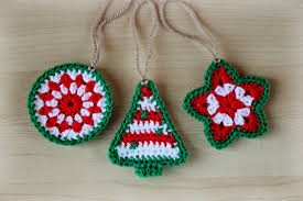 crochet christmas different types of crochet christmas ornaments cottageartcreations