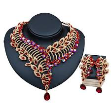 african beads necklace images African beads necklace jewelry set gold bella marie 39 s fashion house jpg