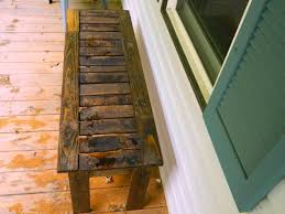 Patio Furniture Made Out Of Wooden Pallets by Ana White Simple Bench From Pallets Diy Projects
