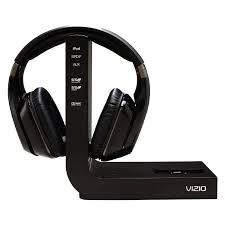 home theater surround sound headphones amazon com vizio xvthp200 active noise canceling high definition