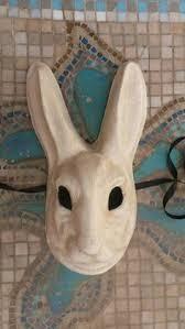 paper mache bunnies paper mache rabbit mask search bunnies