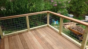 deck railing made with horse panels u2026 pinteres u2026