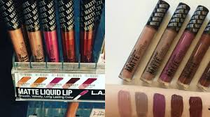 colorful l shades l a colors matte liquid lip color 2017 youtube