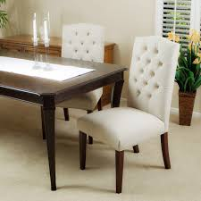 Tufted Dining Chair Set Tufted Dining Room Chairs