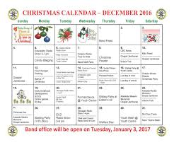 christmas calendar 2016 sandy lake first nation