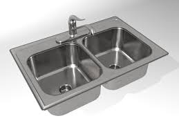 kitchen sink model kh004a00 kitchen sink double bowl 3d model 3d model buy kh004a00