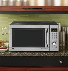 Lg Toaster Oven Ge 1 3 Cu Ft Capacity Countertop Microwave Oven Jes1384sf