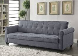 Grey Linen Sofa by Casual Sofa Bed With Storage