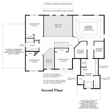 2nd Floor Addition Plans Summit Estates At Westchester The Ellsworth Ii Home Design