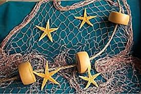 net decor 10 x 9 fishing net fish net netting rope starfish