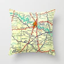 Mid Century Modern Furniture San Antonio by Beach4good Mid Century Modern Art U0026 Map Pillows Custom Texas