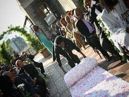 petal aisle runner budget friendly wedding ceremony floral aisle runner