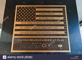 Texas Flag Pledge The Pledge Of Allegiance Of The United States On A Brass Flag