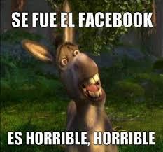 Memes De Facebook - memes por la caída de facebook peru21 litzy hernandez