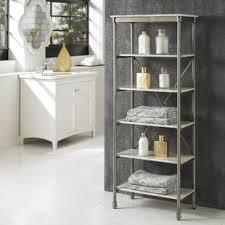 Shelves For Bathroom Free Standing Bathroom Shelving You Ll Wayfair