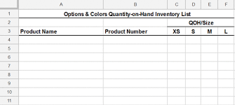 Inventory Templates Excel Free by Free Inventory Template How To Track And Count Physical Inventory