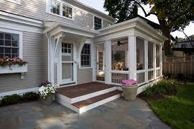 three season porch ideas porch traditional with deck foundation