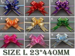 pull bows wholesale size l 23 440mm pull bows ribbons flowers gift wrapping christmas