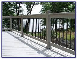 aluminum deck railing kits decks home decorating ideas lo284732bk