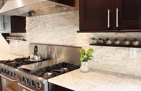 Stone Backsplash Ideas For Kitchen Aralsacom - Stone backsplash