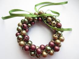mini wreath decorations ornaments