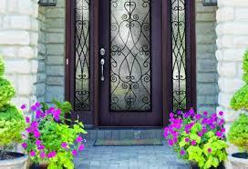 door glass inserts home depot door fearsome fiberglass entry door with composite frame
