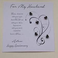 birthday card for husband personalised handmade birthday card husband boyfriend fiancé