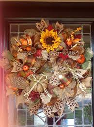 245 best fall wreaths images on autumn wreaths deco