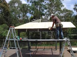 gap roofing diy patio roofing installation outdoor living garden patio supply