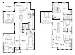 metricon floor plans new home builders melody mk1 double storey home designs