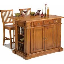 home styles kitchen island home styles traditions kitchen island and 2 stools distressed oak