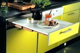 table cuisine escamotable tiroir cuisine table escamotable conceptkicker co