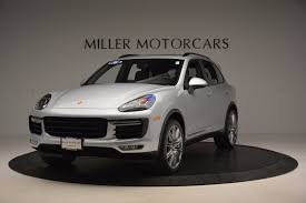 porsche cayenne matte black 2016 porsche cayenne turbo stock 7165 for sale near greenwich