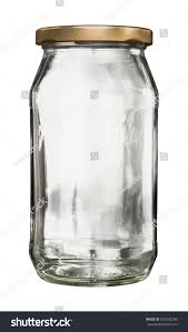 closed empty glass jar metal lid stock photo 530338246 shutterstock