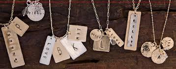 Stamped Jewelry The Hand Stamped Jewelry Craze Mom U0026 Wife