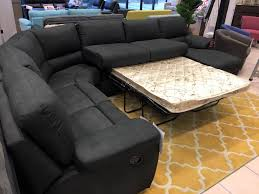 brighton 5pce corner lounge includes recliner sofa bed and