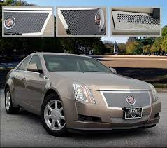 cadillac cts v grill cadillac cts sedan easy install mesh grille 2008 2009 2010