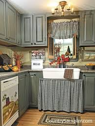 alluring primitive curtains for kitchen designs with best 25