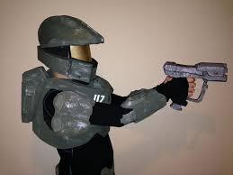 Halo Elite Halloween Costume Foam Halo Armor 5 Steps