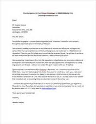 writing a cover letter for an internship abroad example of a