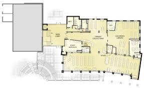 Municipal Hall Floor Plan by Delafield Public Library U0026 City Hall Bray Architects