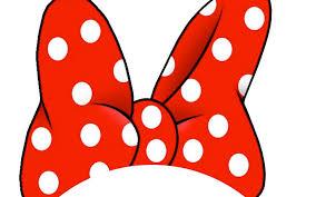 mickey ribbon minnie mouse bow clip disney minnie mickey mouse printable