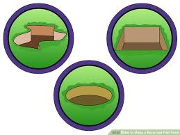 Backyard Clip Art How To Make A Backyard Fish Pond 11 Steps With Pictures