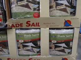 Outdoor Patio Sun Shade Sail Canopy by Coolaroo Triangle Shade Sail Canopy